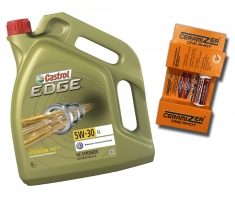 Castrol Edge 5W30 LL 5L + Ceramizer One-Shot