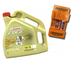 Castrol Edge 5W30 LL 4L + Ceramizer One-Shot