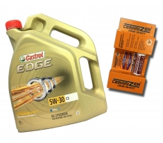 Castrol Edge C3 5W30 5L + Ceramizer One-Shot
