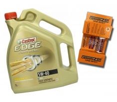 Castrol Edge TD 5W40 5L + Ceramizer One-Shot